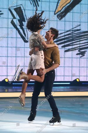 Editorial picture of 'Dancing On Ice' TV show, Series 12, Episode 10, Hertfordshire, UK - 08 Mar 2020