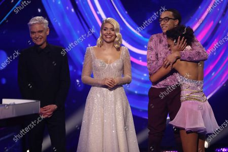 Phillip Schofield, Holly Willoughby, Perri Kiely and Vanessa Bauer