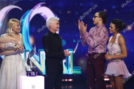 Holly Willoughby, Phillip Schofield, Perri Kiely and Vanessa Bauer