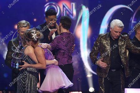 Editorial photo of 'Dancing On Ice' TV show, Series 12, Episode 10, Hertfordshire, UK - 08 Mar 2020