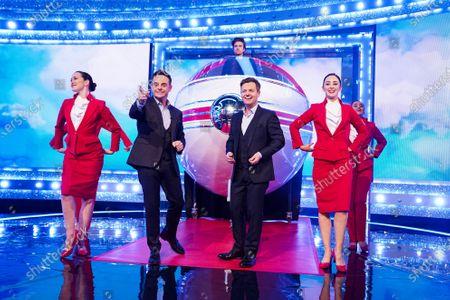 Editorial image of 'Ant & Dec's Saturday Night Takeaway' TV show, Series 16, Episode 3, London, UK - 07 Mar 2020