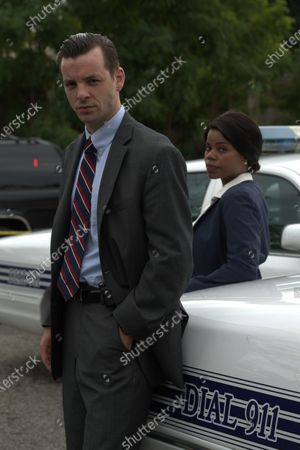 Stock Photo of Gethin Anthony as Jack Brennan and Kelly Jenrette as Stacy Knox