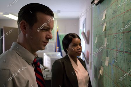 Gethin Anthony as Jack Brennan and Kelly Jenrette as Stacy Knox