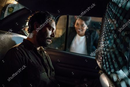 Jack Huston as Eric Rudolph and Kelly Jenrette as Stacy Knox