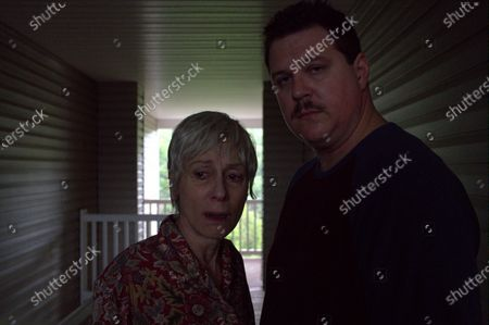 Judith Light as Bobbi Jewell and Cameron Britton as Richard Jewell