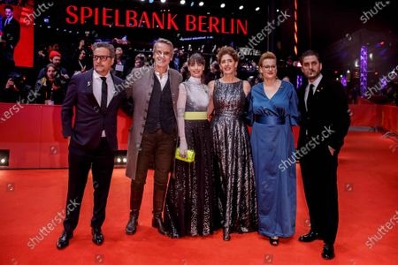 Stock Picture of Jeremy Irons, Berenice Bejo, Annemarie Jacir, Bettina Brokemper, Luca Marinelli