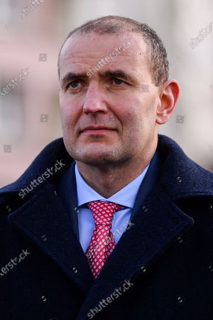 President of Iceland, Gudni Thorlacius Johannesson during the visit to Gdansk.
