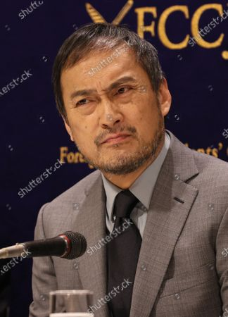 Stock Picture of Ken Watanabe speaks at the Foreign Correspondents' Club of Japan.