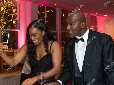Stock Picture of Evette Ashley Holyfield and Evander Holyfield