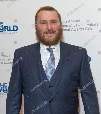 Stock Picture of Rabbi Shmuley Boteach