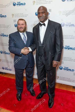 Rabbi Shmuley Boteach and Evander Holyfield