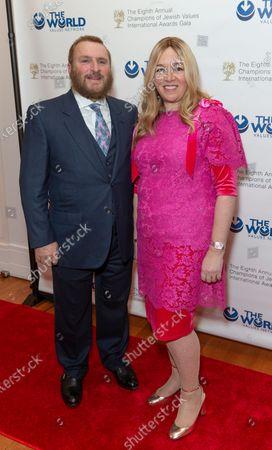 Rabbi Shmuley Boteach and Debbie Boteach