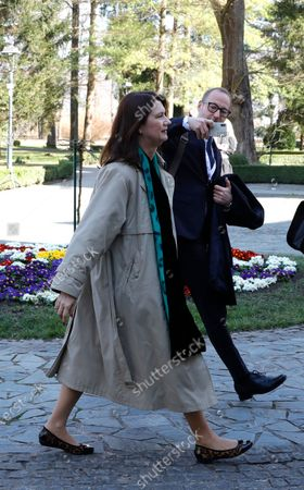 Sweden's Minister for Foreign Affairs Ann Linde arrives for an informal meeting of EU Foreign Ministers at Castle Luznica near Zagreb, Croatia, 05 March 2020.