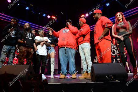 Pretty Vee, Emmanuel Hudson, Yvng Swag, Lil JJ, Rip Micheals, Nick Cannon, Big Mack and Justina Valentine