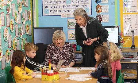 Editorial photo of Camilla Duchess of Cornwall visit to Bousfield Primary School, London, UK - 05 Mar 2020