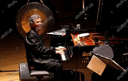 US pianist Chick Corea performs during a concert held at Palau de Les Arts in Valencia, eastern Spain, 05 March 2020.