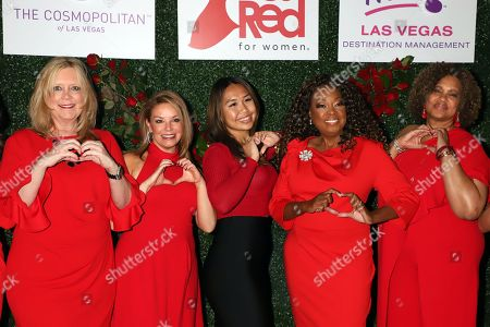 Editorial photo of 'Go Red For Women' event, Las Vegas, USA - 05 Mar 2020
