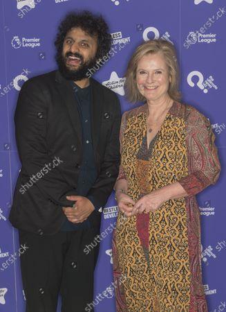Nish Kumar and Martha Kearney