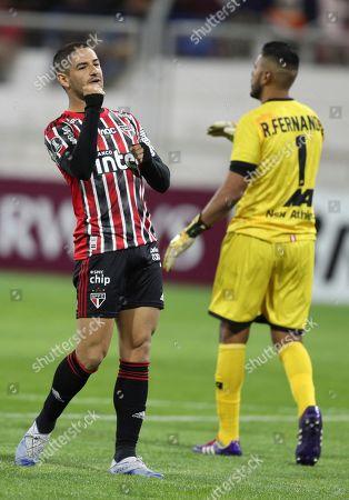Editorial image of Brazil Soccer Copa Libertadores, Juliaca, Peru - 05 Mar 2020