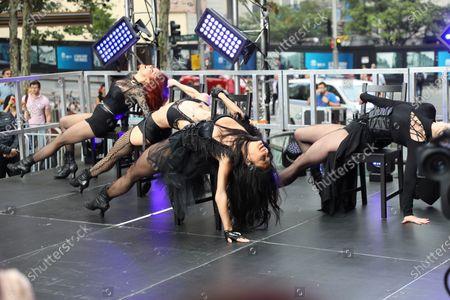 Editorial picture of 'Sunrise' TV show, Sydney, Australia - 06 Mar 2020