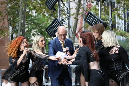 The Pussycat Dolls - Nicole Scherzinger, David Koch and Natalie Barr