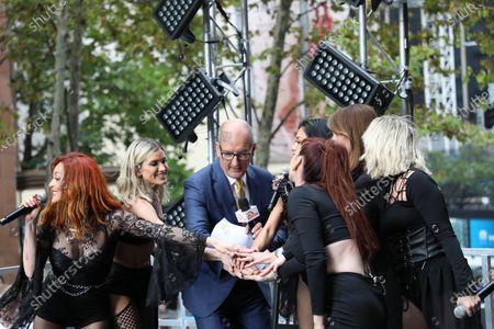 Stock Picture of The Pussycat Dolls - Nicole Scherzinger, David Koch and Natalie Barr