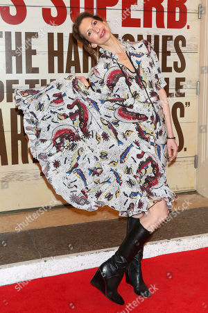 """Alysia Reiner attends the Broadway opening night of """"Girl From The North Country"""" at the Belasco Theatre, In New York"""