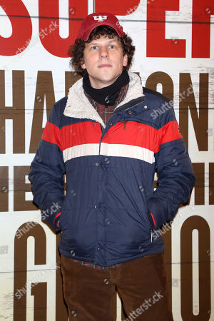 """Jesse Eisenberg attends the Broadway opening night of """"Girl From The North Country"""" at the Belasco Theatre, In New York"""