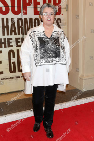 "Rosie O'Donnell attends the Broadway opening night of ""Girl From The North Country"" at the Belasco Theatre, In New York"