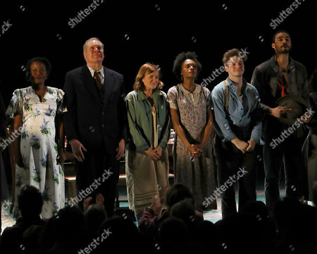 """Editorial photo of """"Girl From The North Country"""" Broadway Opening Night, New York, USA - 05 Mar 2020"""