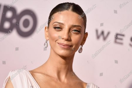 Stock Picture of Angela Sarafyan