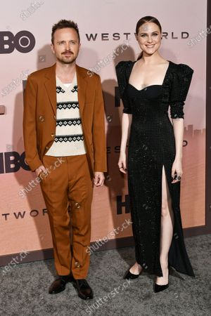 Aaron Paul and Evan Rachel Wood