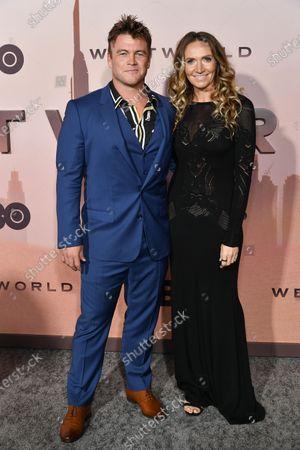 Stock Photo of Luke Hemsworth and Samantha Hemsworth