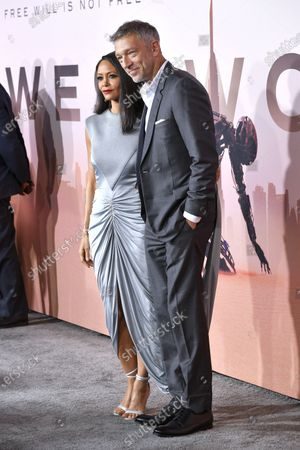 Thandiwe Newton and Vincent Cassel