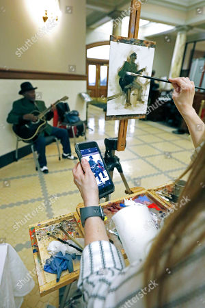 Editorial image of Arts In The Capitol, Jackson, USA - 05 Mar 2020