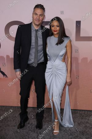 Stock Image of Thandie Newton and Ol Parker