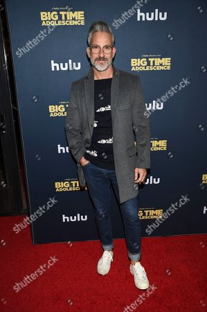 "Stock Image of Garrett Swann attends the premiere of ""Big Time Adolescence"" at Metrograph, in New York"