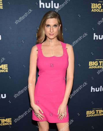 "Emily Arlook attends the premiere of ""Big Time Adolescence"" at Metrograph, in New York"