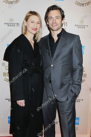 Stock Picture of Claire Danes and Hugh Dancy
