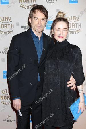 Stock Photo of Michael C Hall and Morgan Macgregor