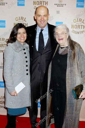 Stock Image of Susan Pourfar, Anthony Edwards and Lois Smith