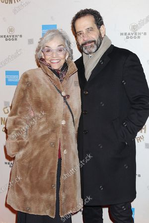 Stock Picture of Brooke Adams and Tony Shalhoub