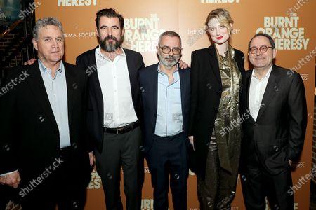 Tom Barnard, Claes Bang, Giuseppe Capotondi (Director), Elizabeth Debicki, Michael Barker