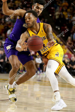Editorial picture of Washington Arizona St Basketball, Tempe, USA - 05 Mar 2020