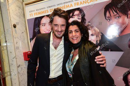 Vincent Cerutti and guest