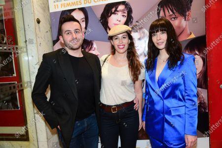 Quentin Delcourt, Nathalie Marchak and Alix Benezech