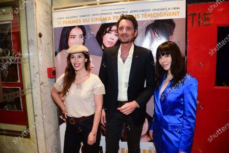 Nathalie Marchak, Vincent Cerutti and Alix Benezech