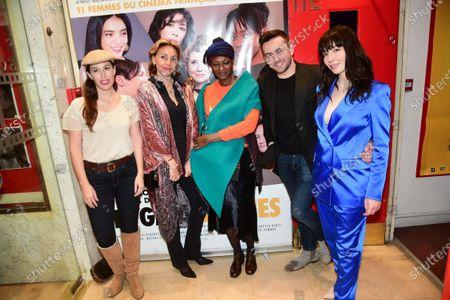 Nathalie Marchak, Marie Chretien-Franceschini, Quentin Delcourt, Alix Benezech and guest