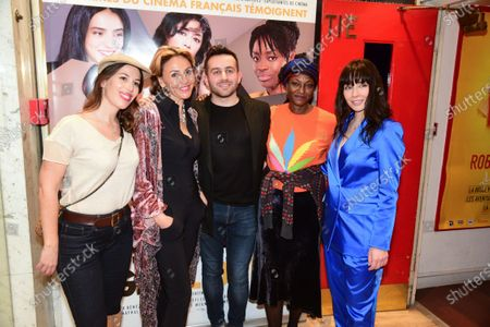 Marie Chretien-Franceschini, Quentin Delcourt, Alix Benezech and guests