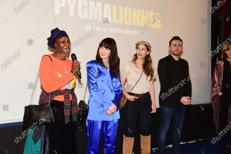 Editorial image of 'Pygmalionnes' film premiere, Cinema Mac-Mahon, Paris, France - 05 Mar 2020